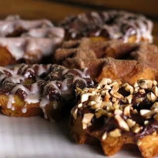 Glazed Waffle Donuts.