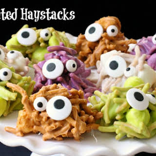 HAUNTED HAYSTACKS.