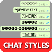 Chat Styles: Cool Text, Stylish Font for WHatsapp