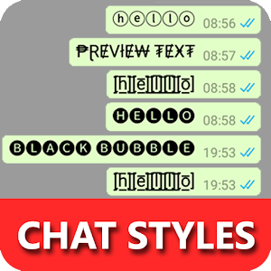 Chat Styles: Text Stylish for WHatsapp