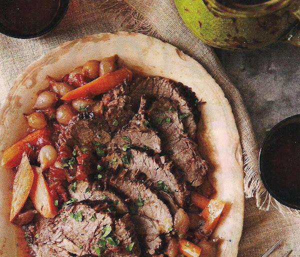 Pot Roast With Red Wine Sauce Recipe
