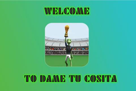 Dame Tu Cosita Soccer challenge Dance (Football) V1.1.2 screenshots 1