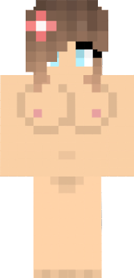 Mulher Nova Skin - Skin para o minecraft feminina