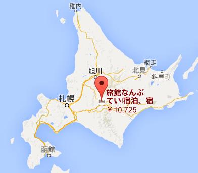 地図:なんぷてい