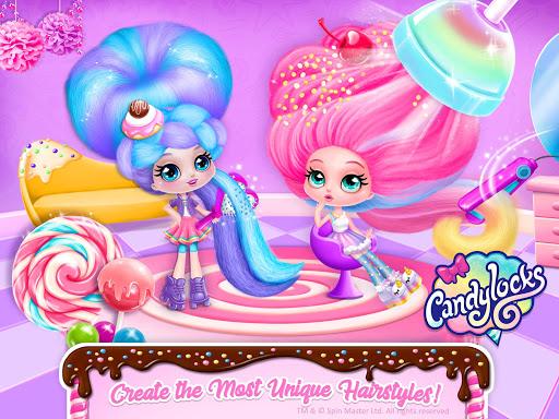 Candylocks Hair Salon - Style Cotton Candy Hair  Wallpaper 11