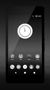Pixel Black Theme- screenshot thumbnail