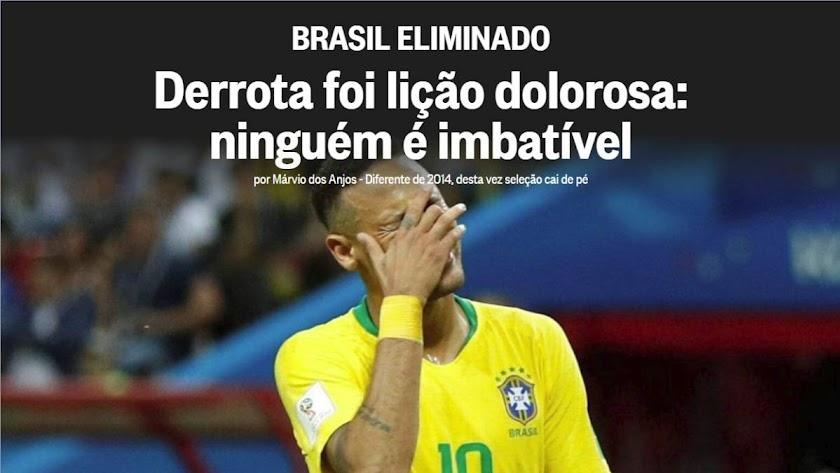 """""""Una lección dolorosa"""": la prensa brasileña sobre la eliminación"""