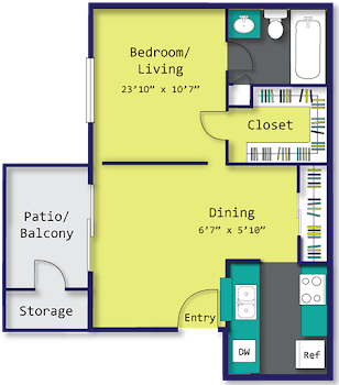 Go to The Artist Floorplan page.
