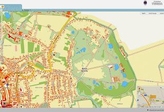 Photo: 2015.02.15 - Extras din Harta publicata de Primaria Turda - Zona Baile Sarate