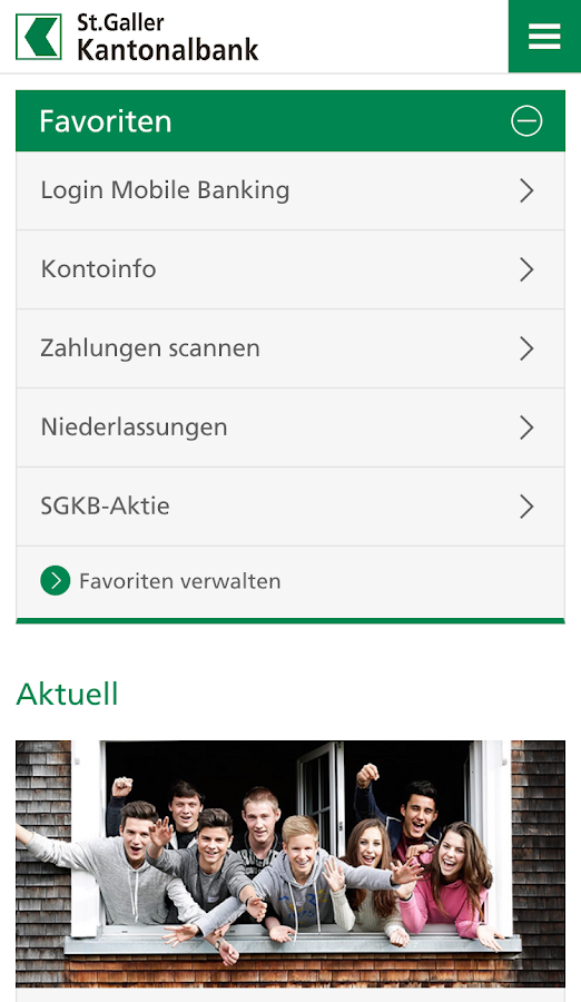 SGKB- screenshot