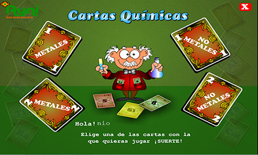 Cartas Quimicas- screenshot thumbnail