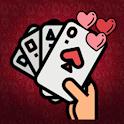 پاسور بی دل آنلاین، آفلاین و چهار نفره (Hearts) icon