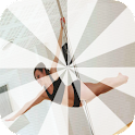Pole dancing exercises icon