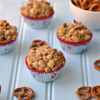 Pretzel Muffins with Chocolate Chips