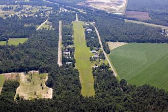 Photo: Runway 9 at the airpark.