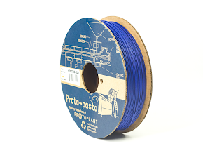 Proto-Pasta Blue Matte Fiber HTPLA - 3.00mm (0.5kg)