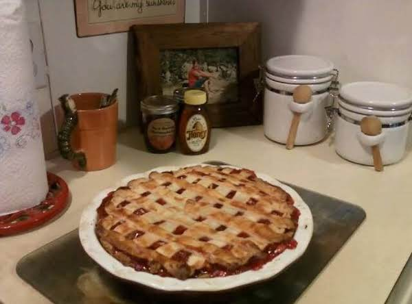 Almond Cherry Pie Recipe