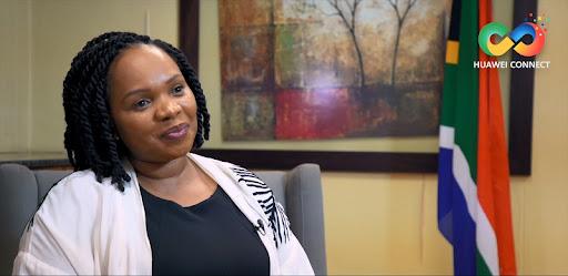Acting-Director General of the Department of Communications and Digital Technologies, Nonkqubela Jordan-Dyani.