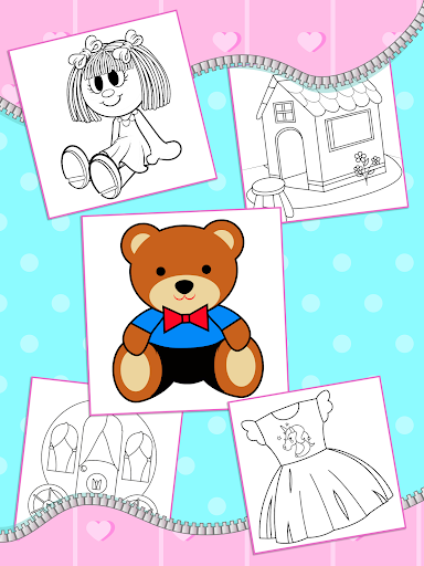 Lol Dolls Coloring Book, Lols & Dresses screenshot 4