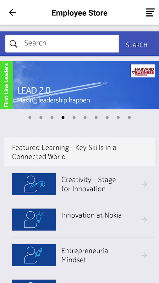 Nokia Learning Store- screenshot