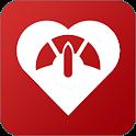 Blood pressure logbook icon
