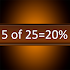 percentage math homeworks