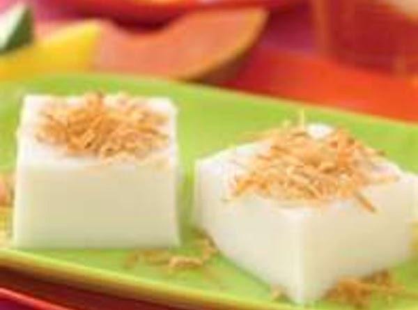 Haupia - Hawaiian Coconut Dessert Recipe