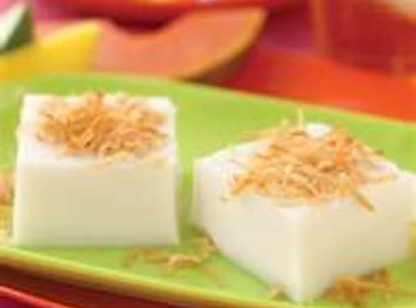 Haupia - Hawaiian Coconut Dessert Recipe
