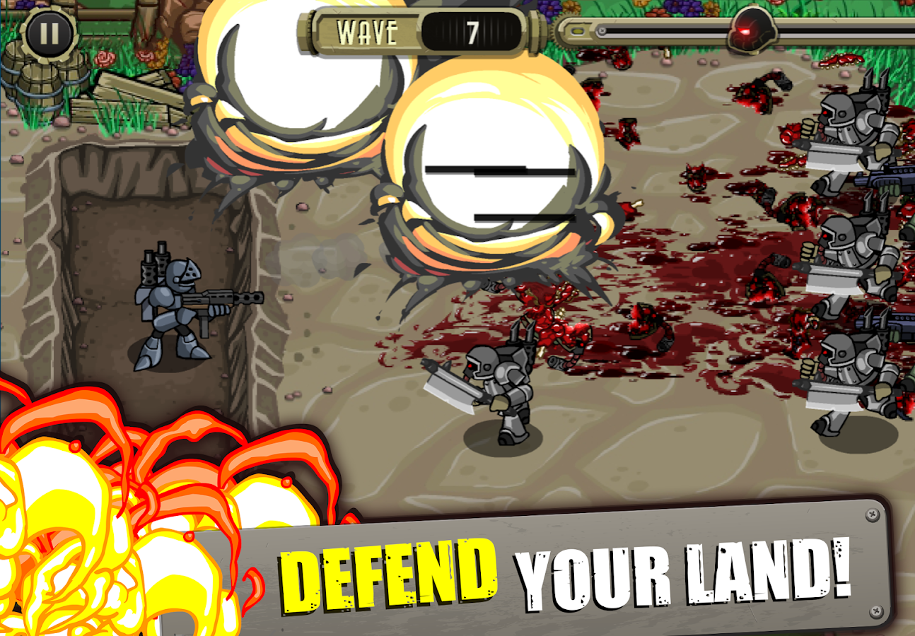 Peacekeeper - Trench Defense- screenshot