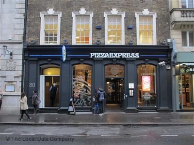 Pizzaexpress On St Martins Lane Restaurant Italian In