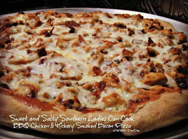 Bbq Chicken And Hickory Smoked Bacon Pizza