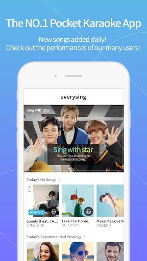Smart Karaoke: everysing Sing! 4.2.29g screenshots 1