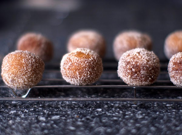 Make the doughnuts: In a saucepan over medium or medium-low heat, gently reduce the...