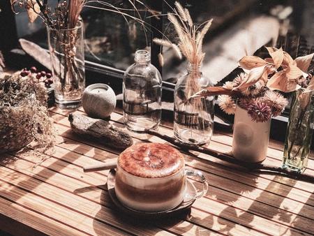 好人好室x七二聚場   ,陽光 ॰ 書香 ॰ 洗石子 ॰ 貓,浸在老屋與乾燥花裡的不限時咖啡館。