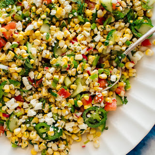 Garden-Fresh Corn Salad Recipe