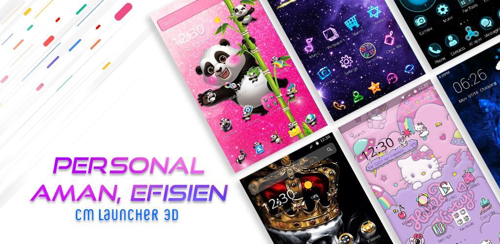 CM Launcher 3D 5.0 - Tema, Personal, Aman, Efisien