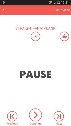 Abs workout 7 minutes screenshot 4