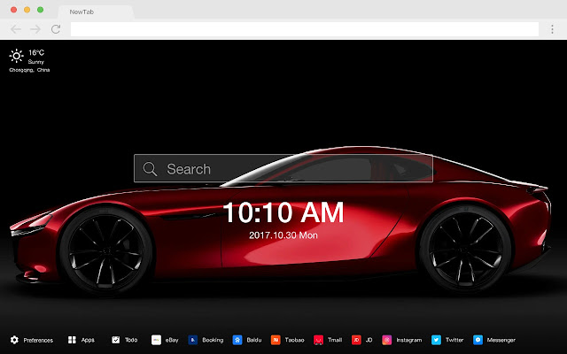 Mazda New Tab Page HD Wallpapers Cars Theme