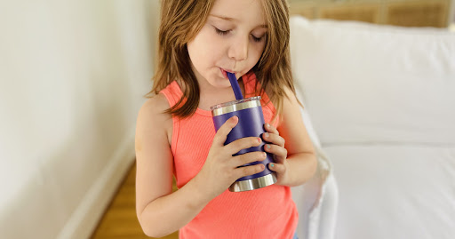 Kids Leakproof Stainless Steel Tumblers w/ Straw Just $12 Each Shipped on Amazon | Includes Lifetime Warranty