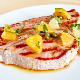 Citrus Tuna Steaks Recipe