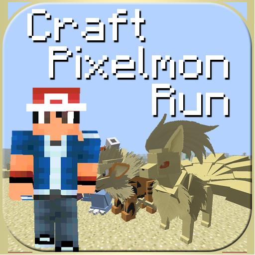 Craft Pixelmon Run 街機 App LOGO-硬是要APP