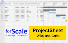 ProjectSheet Planning Google Sheets Addon - Schedule google sheets