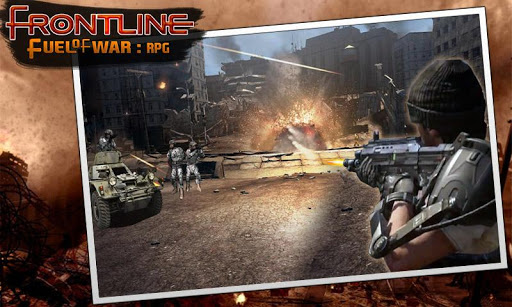 戦争の最前線燃料:RPG