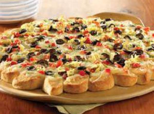 Antipasto Pullapart Pizza Recipe Just A Pinch Recipes