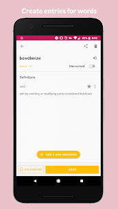 MyLexicon: A Personal Dictionary v1.1.0 [Pro] APK 1