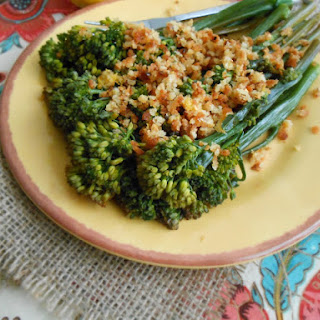 Lemon Pepper Wine-Braised Baby Broccoli Recipe