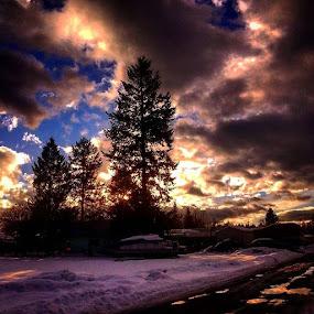 Sky tripper style by Dawn Morri Loudermilk - Landscapes Cloud Formations