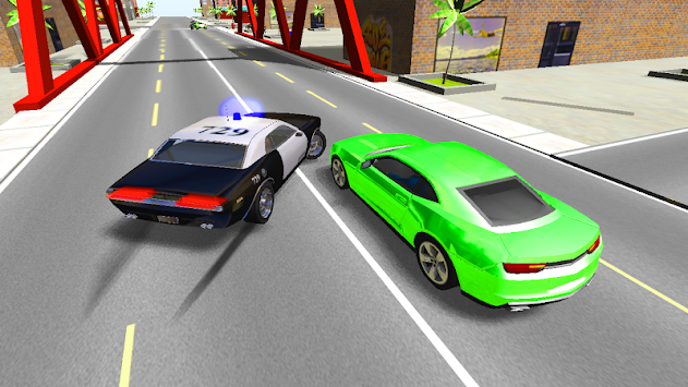 Police Car Driver 3D APK screenshot thumbnail 4