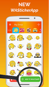 Big Emoji Mod Apk – large emoji for all chat messengers 2