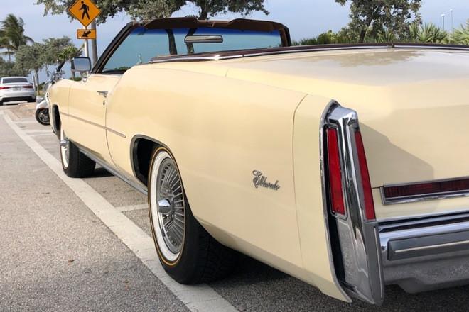 1976 Cadillac ELDORADO Convertible Hire FL